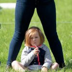 Mia was her new little sister, Lena, who Zara gave birth to just three months ago (Image SWNS)