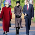 Miss Morrison, pictured with Prince William and Kate, Duchess of Cambridge, in 2016 (Image GETTY)