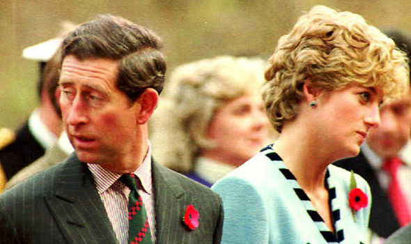 Diana and Charles' marriage slowly deteriorated over the years (Image GETTY)