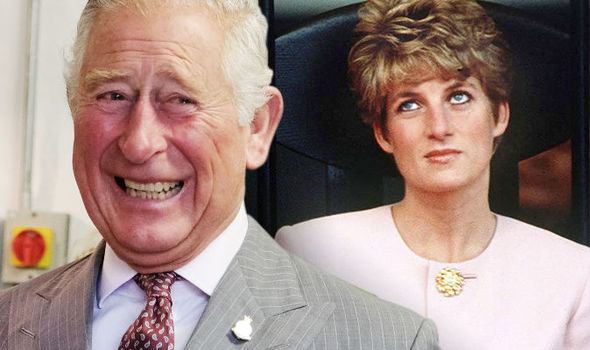 Prince Charles' cheekily poked Diana during a staff meeting, but she was not too pleased (Image GETTY)