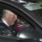 Prince Charles drives to church with Camilla (Image WENN)
