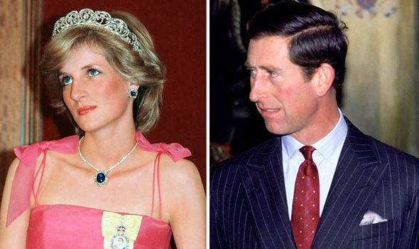 Prince Charles said his divorce from Diana was intolerable (Image GETTY)
