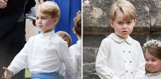 Prince George has grown up quickly in just a year (Image NC GETTY )