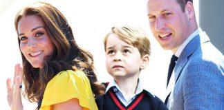 Prince George school George is in Year One of Thomas's Battersea (Image Getty)