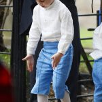 Prince George showed off his royal dance moves (Image NC )