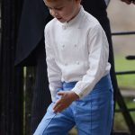 Prince George was in a playful mood on Saturday (Image NC )