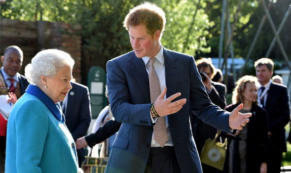 Prince Harry admitted he even still panics when he passes The Queen in Buckingham Palace (Image GETTY)