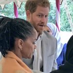 Prince Harry and Doria Ragland mingled at the charity lunch [Twitter Chris Ship]