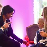 Prince Harry and Meghan Markle at the WellChild Awards Photo (C) GETTY