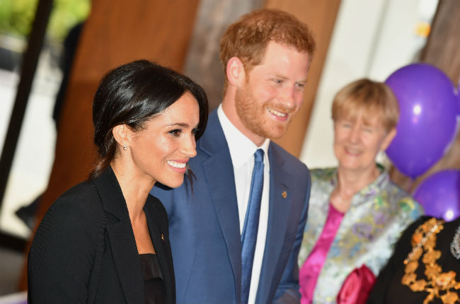 Prince Harry and Meghan Markle bonded with children over their Disney knowledge Photo (C) GETTY