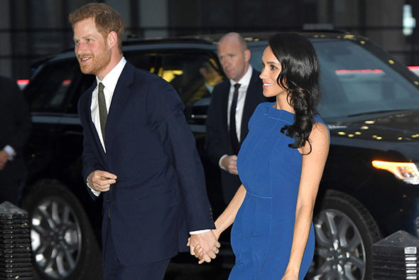 Prince Harry and Meghan Markle have made no secret of their desire to start a family (Image GETTY)