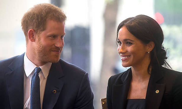 Prince Harry and Meghan have started to mirror each other's moves Photo (C) GETTY