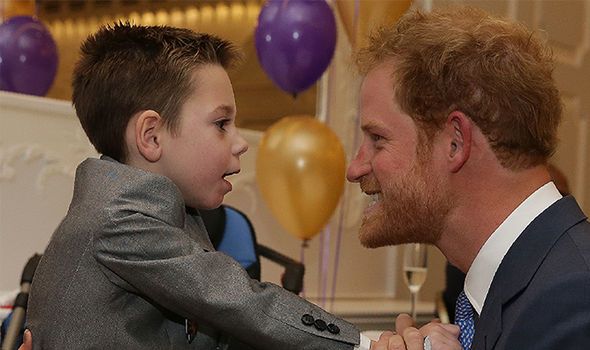 Prince Harry has been patron of WellChild since 2007 (Image GETTY)