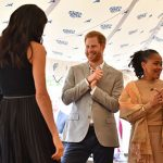 Prince Harry looked so excited to see his new wife – see how similar he is to George in the photo below Photo (C) GETTY