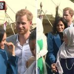 Prince Harry shared a touching moment with Meghan Markle Photo (C) ITV