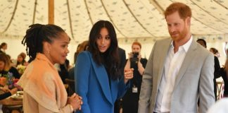 Prince Harry supported Meghan at the launch of her cookbook Photo (C) GETTY IMAGES