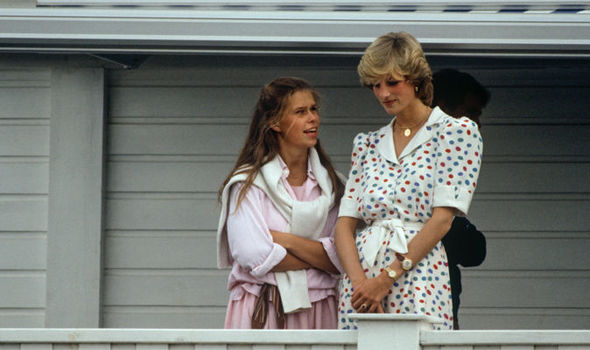 Princess Diana and Lady Sarah were friends (Image GETTY )