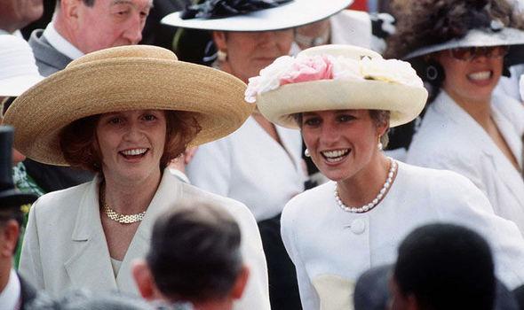 Princess Diana and Sarah Ferguson were close friends (Image GETTY )