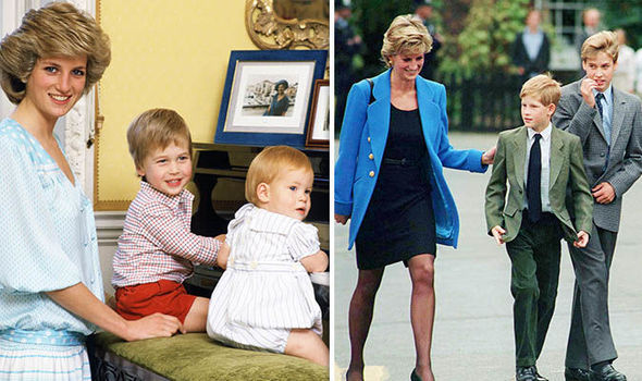 Princess Diana believed Prince William's will was stronger than Harry's (Image GETTY)