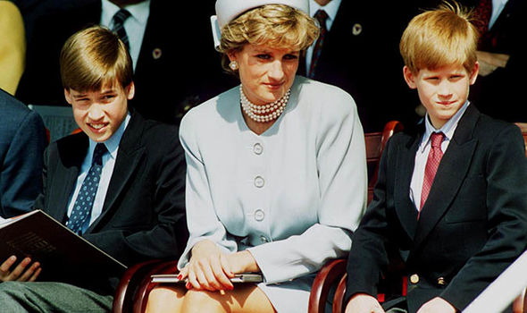 Princess Diana praised Prince William's independence (Image GETTY)