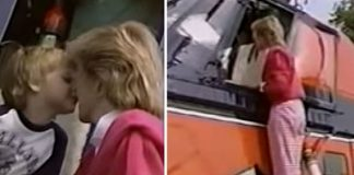 Princess Diana video Prince William kissed his mum on the nose (Image CHARLESANDDI•ITN)