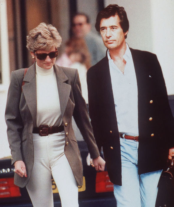 Princess Diana was 'obsessed' with Oliver Hoare (Image ALPHA )