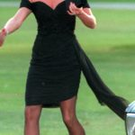Princess Diana wore a similar dress in 1994 Photo (C) GETTY