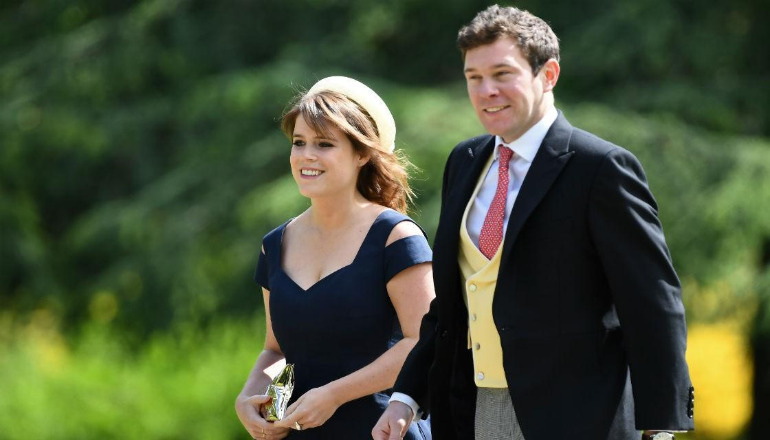 Princess Eugenie in 2017. Photo credit Reuters