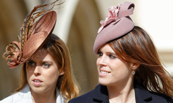 Princess Eugenie is expected to make her sister Princess Beatrice a bridesmaid at the royal event (Image GETTY)