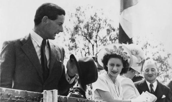 Princess Margaret, pictured with Peter Townsend (Image GETTY)
