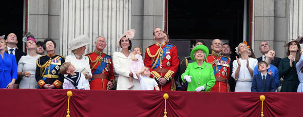 Queen Elizabeth II news She certainly stands out in a crowd! At her 90th celebrations (Image Getty)