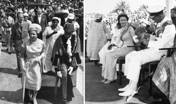Queen Elizabeth and Prince Philip visited Sierra Leone in 1961 (Image GETTY)