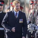 Sandhurst graduate Prince Harry returns to the military academy last year (Image GETTY)