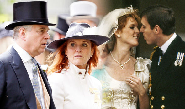 Sarah Ferguson Prince Andrew love revealed by body language (Image GETTY)