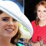 Sarah Ferguson Princess Eugenie thinks other royals will have to get on with' her mum (Image GETTY)