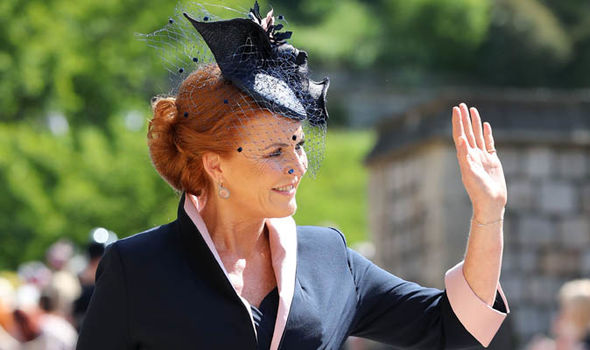 Sarah Ferguson became the Royal Family pariah in 1992 (Image GETTY)
