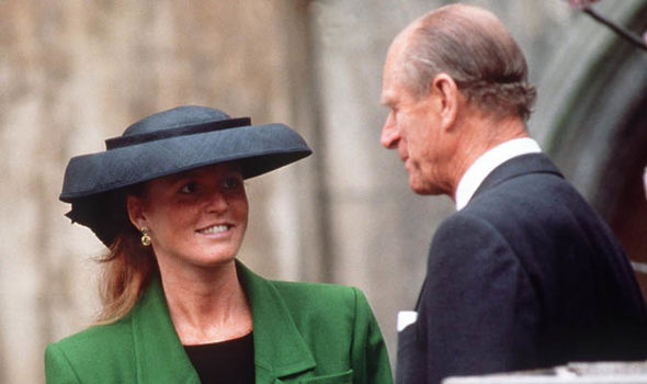 Sarah Ferguson is 'veru nervous' about Prince Philip attending Eugenie's wedding (Image GETTY)