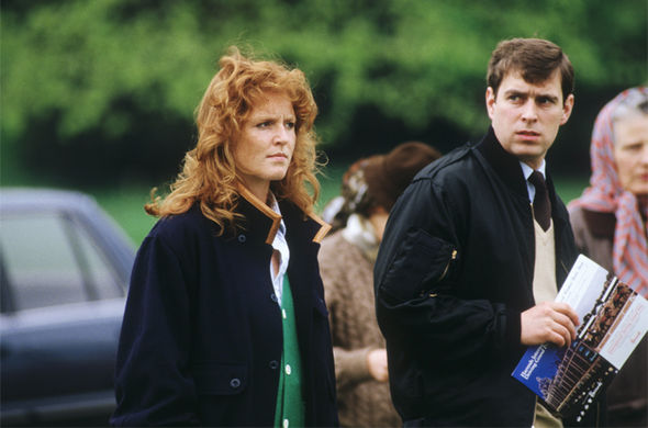 Sarah Ferguson was accused of 'setting up' the photos to get caught (Image GETTY )