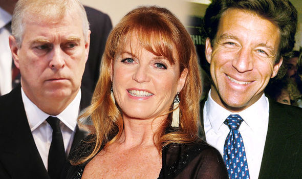 Sarah Ferguson was in love with her lover Steve Wyatt, according to explosive claims (Image GETTY )