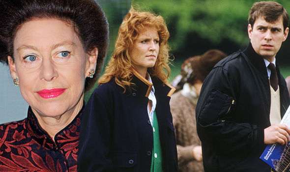Sarah Ferguson was snubbed by the Queen's sister Princess Margaret (Image GETTY )