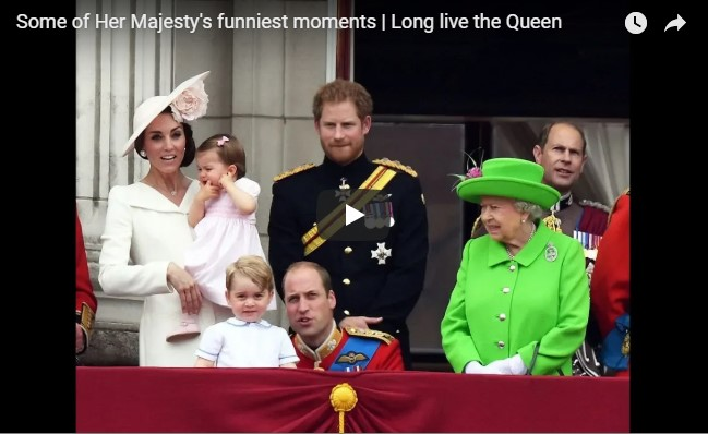 Some of Her Majesty's funniest moments