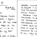 Tender love letters show Diana's affection for her new partner (Image No Credit)