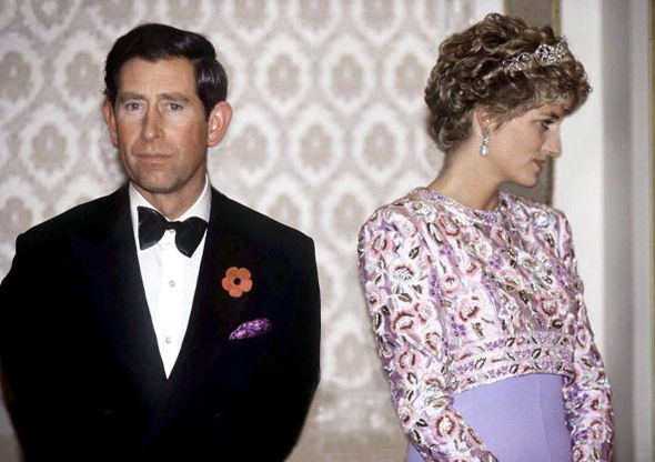 The 1986 card was sent before the breakdown of the late 36-year-old's marriage (Image GETTY)