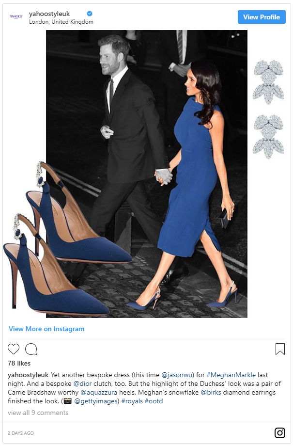 Does anyone else think Meghan Markle is pregnant I'm not sure if it's the dress Photo (C) TWITTER