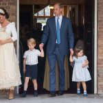 The Duchess of Cambridge, 36, has remained at home to look after the couple's young children Prince George, five, Princess Charlotte