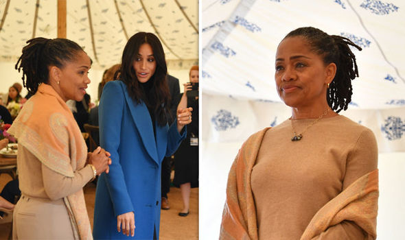 The Duchess of Sussex brought her mother to the launch of the cookbook (Image GETTY)