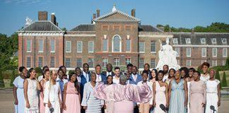The Kingdom Choir outside Kensington Palace Photo (C) GETTY