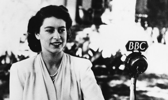 The Queen gave a speech on her 21st birthday, which was apparently pre-recorded a few days prior (Image GETTY)