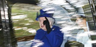 The Queen is pictured arriving at church in Balmoral (Image Peter Jolly REX Shutterstock)