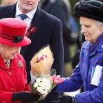 The Queen's lady-in-waiting has broken her ankle after falling down the stairs at Balmoral (Image GETTY)